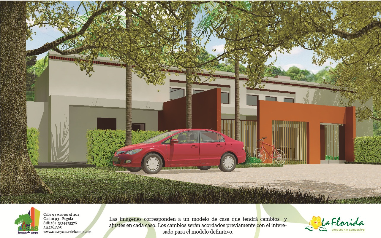 Dise Exclusivo Casa Familiar Campestre Alrededor Una Piscina